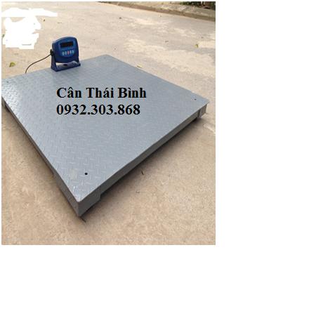 Cân sàn điện tử TBEC 2000kg-3000kg (1500x1500x100)mm