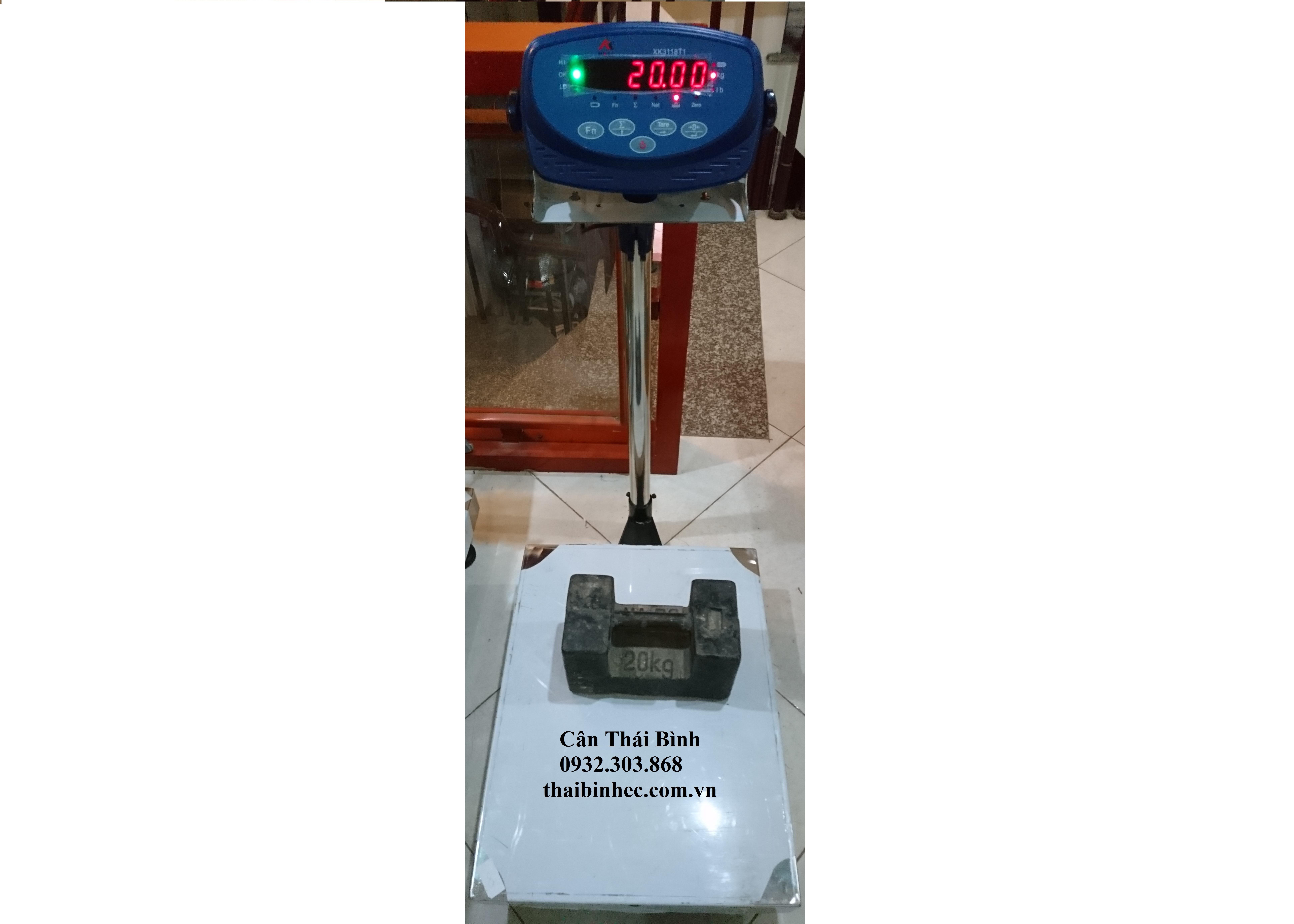 Cân bàn điện tử XK3118T1 40×50 150kg