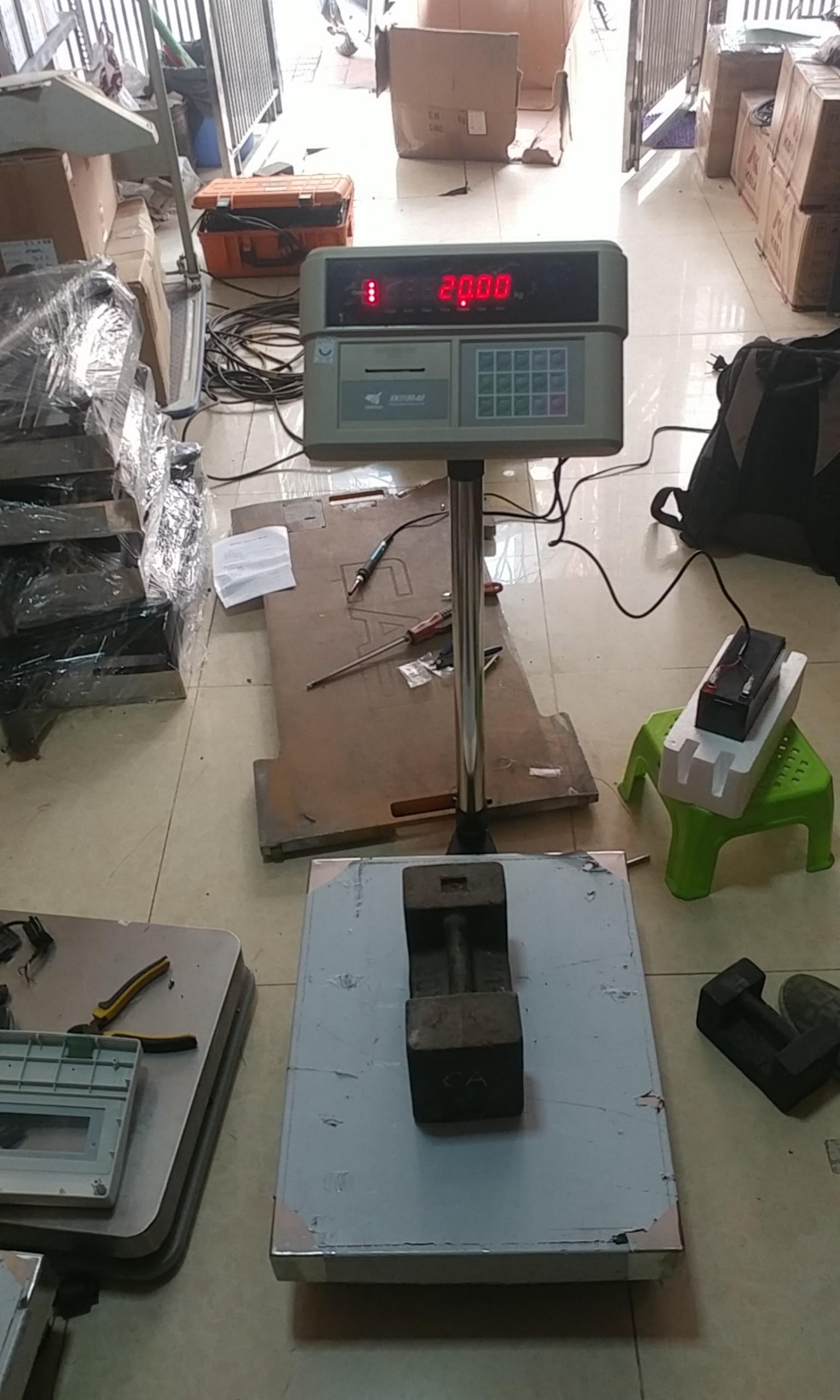 Cân bàn điện tử in phiếu cân A9P