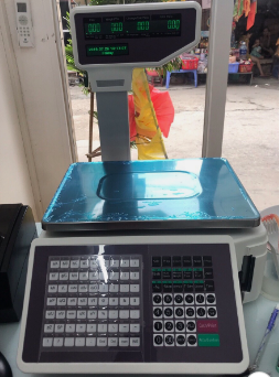 Cân siêu thị in tem mã vạch TM-A 30kg/10g